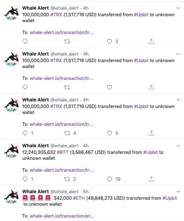 Южнокорейская криптобиржа Upbit потеряла $50 млн вETH после взлома
